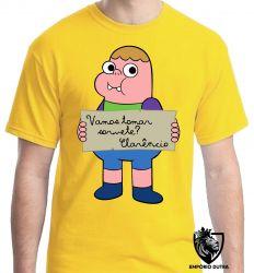 Camiseta clarencio o otimista