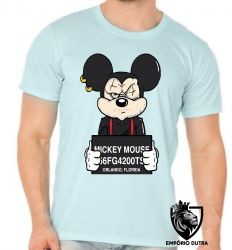 Camiseta Mickey mouse preso