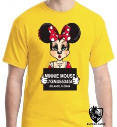Camiseta Minnie presa