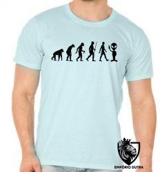 Camiseta evolução alien