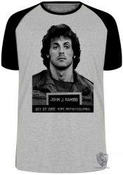 Camiseta Raglan John Rambo