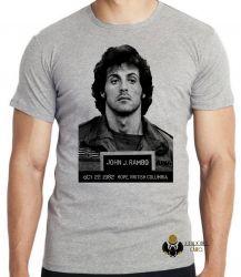 Camiseta Infantil John Rambo