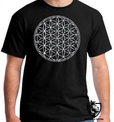 Camiseta geometria sagrada