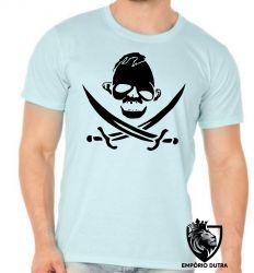 Camiseta goonies caveira sloth