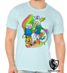 Camiseta hora da aventura