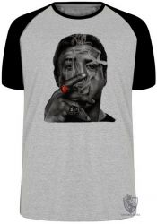 Camiseta Raglan Barney Ross