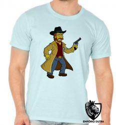 Camiseta simpsons chuck norris