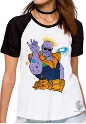 Blusa Feminina Thanos dedos