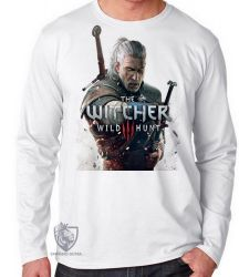 Camiseta Manga Longa  The Witcher