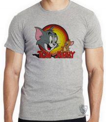 Camiseta Tom & Jerry amarelo
