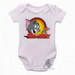 Roupa  Bebê Tom & Jerry amarelo