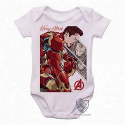 Roupa  Bebê Tony Stark Ultimato