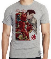 Camiseta Infantil Tony Stark Ultimato
