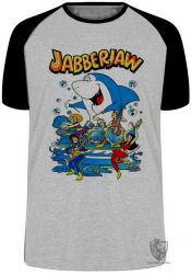 Camiseta Raglan Tutubarão JabberJaw
