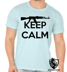 Camiseta fuzil keep calm