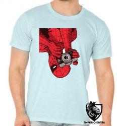 Camiseta homem aranha foto