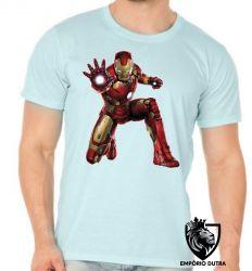 Camiseta homem ferro