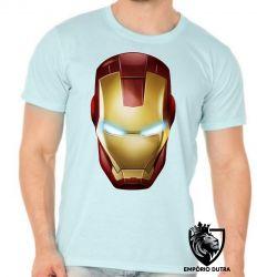 Camiseta Homem Ferro máscara