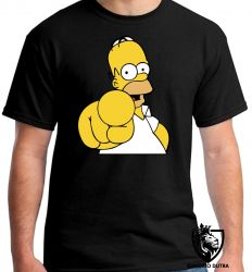Camiseta homer simpsons dedo