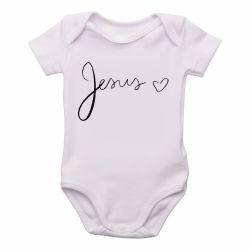 Roupa Bebê Jesus coração