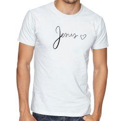Camiseta Jesus coração
