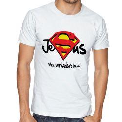 Camiseta Jesus verdadeiro Herói