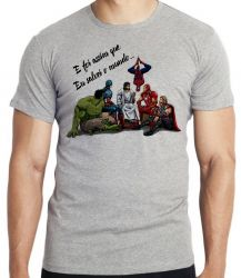 Camiseta Jesus  foi assim que Eu salvei o mundo