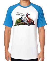 Camiseta Raglan Jesus  foi assim que Eu salvei o mundo
