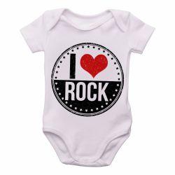 Roupa  Bebê I love rock