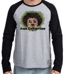 Camiseta Manga Longa Irmão do Jorel Ana Catarina