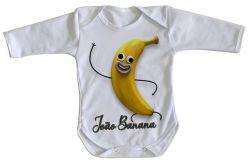 Roupa Bebê manga longa João Banana