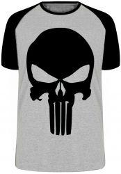 Camiseta Raglan Justiceiro punisher