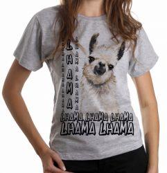 Blusa Feminina lhama animal