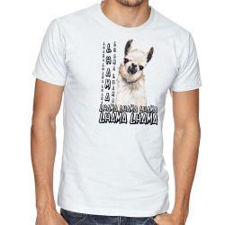 Camiseta lhama animal