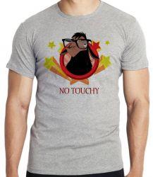 Camiseta Lhama No touchy