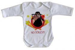 Roupa Bebê manga longa Lhama No touchy
