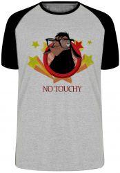 Camiseta Raglan Lhama No touchy