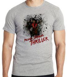 Camiseta Infantil Michael Jackson thriller