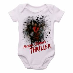 Roupa Bebê Michael Jackson thriller