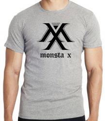 Camiseta monsta x k pop bts