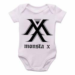 Roupa Bebê monsta x k pop bts
