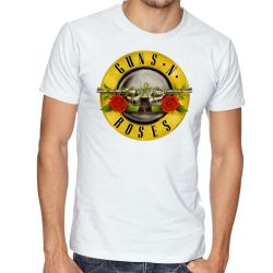 Camiseta Guns in Roses