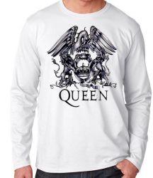 Camiseta Manga Longa Queen Black