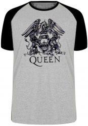 Camiseta Raglan Queen Black