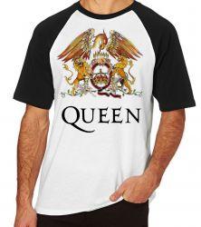 Camiseta Raglan Queen Color