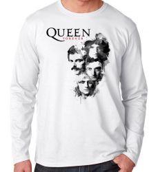 Camiseta Manga Longa Queen Forever