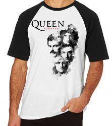 Camiseta Raglan Queen Forever