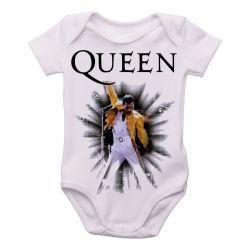 Roupa Bebê Queen Freddie Mercury