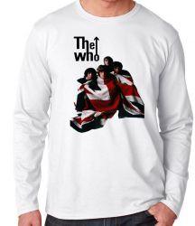 Camiseta Manga Longa The Who
