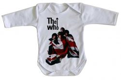 Roupa Bebê manga longa The Who